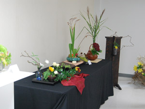 Ikebana at the 2010 VNCS Fall Fair