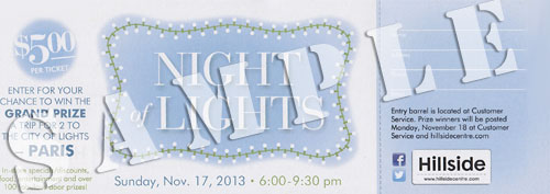 Night of Lights Ticket