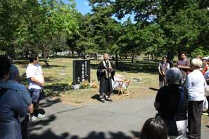 2010 Obon - Reverend Ikuta
