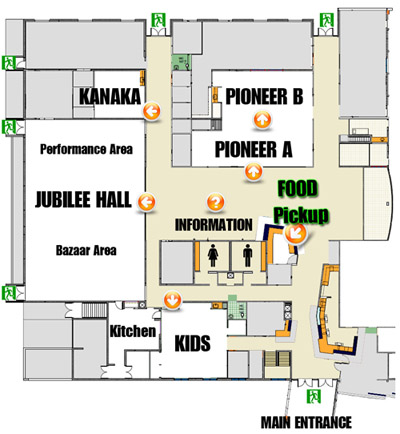 2012 VNCS Japanese Cultural Fair Floor Plan